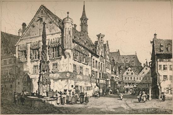 'Ulm', c1820 (1915)-Samuel Prout-Giclee Print