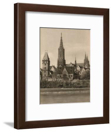 'Ulm. Cathedral - Metzger Tower', 1931-Kurt Hielscher-Framed Photographic Print
