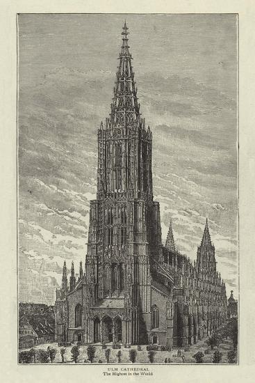 Ulm Cathedral--Giclee Print