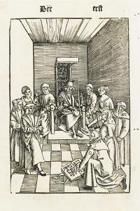 Jewish Oath (From the Laienspiegel, Augsbur) by Ulrich Tengler