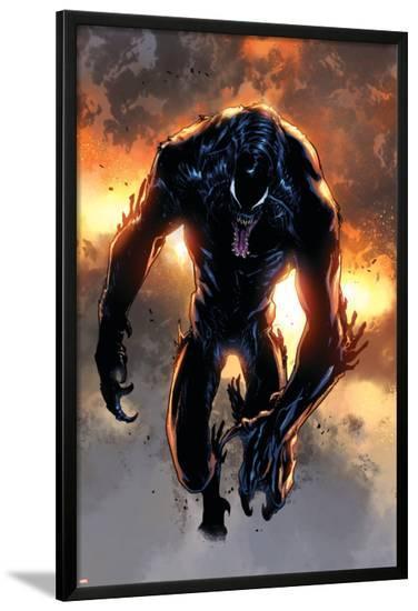 Ultimate Comics Spider-Man #19 Featuring Venom-Sara Pichelli-Lamina Framed Poster