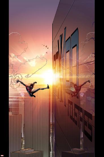Ultimate Comics Spider-Man #27 Cover: Spider-Man-David Marquez-Art Print
