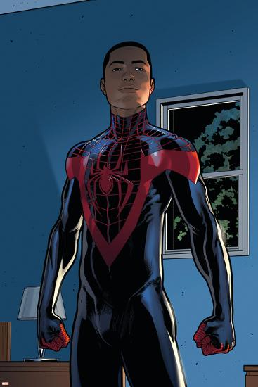 Ultimate Comics Spider-Man #28 Featuring Spider-Man, Miles Morales-David Marquez-Art Print