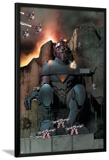 Ultimate Comics X-Men #11 Featuring Master Mold-Paco Medina-Lamina Framed Poster
