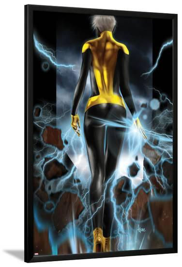 Ultimate Comics X-Men No.10 Cover: Storm Walking-Kaare Andrews-Lamina Framed Poster