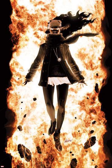 Ultimate Comics X-Men No.8 Cover: Jean Gray-Kaare Andrews-Art Print