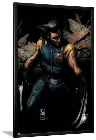 Ultimate Origins No.1 Cover: Wolverine--Lamina Framed Poster
