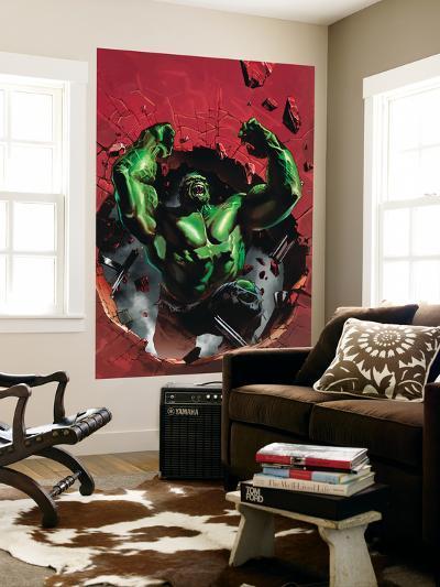 Ultimate Origins No.4 Cover: Hulk-Gabriele DellOtto-Wall Mural