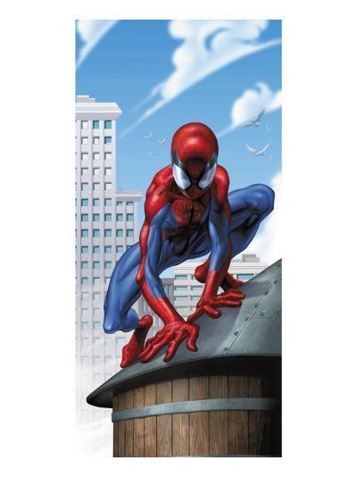 Ultimate Spider-Man No.30 Cover: Spider-Man-Mark Bagley-Art Print
