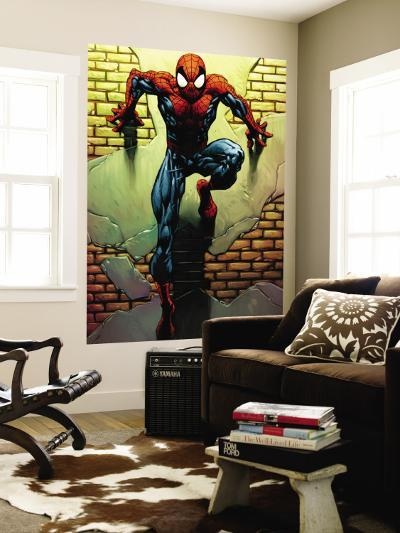 Ultimate Spider-Man No.72 Cover: Spider-Man-Mark Bagley-Wall Mural