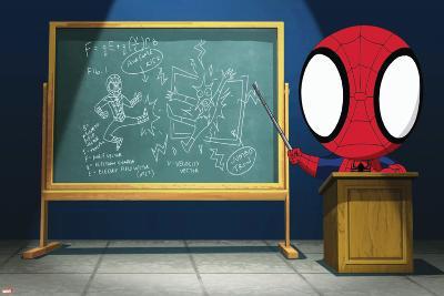 Ultimate SpiderMan - Animation 2014 Stills--Art Print