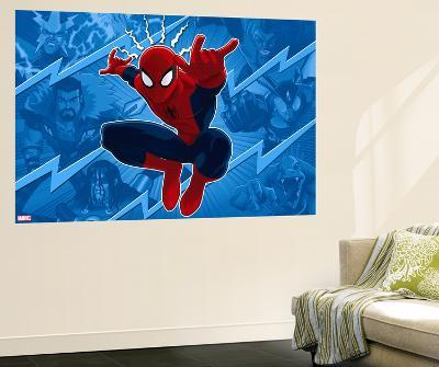 Ultimate SpiderMan - Sinister Art - Situational Art--Wall Mural
