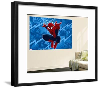 Ultimate SpiderMan - Sinister Art - Situational Art--Framed Giclee Print