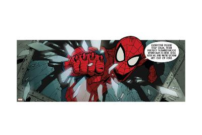 Ultimate SpiderMan--Art Print