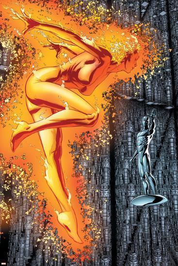 Ultimate X-Men #96 Featuring Phoenix-Clay Mann-Art Print