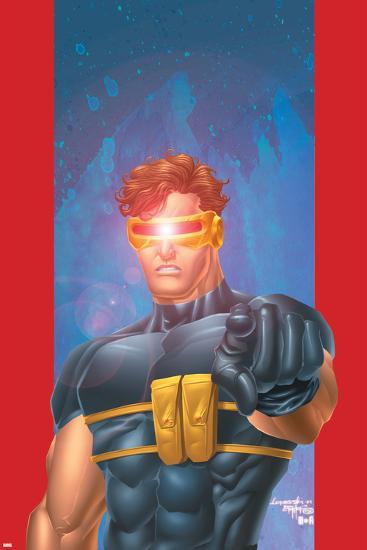 Ultimate X-Men No.1/2 Cover: Cyclops-Aaron Lopresti-Art Print