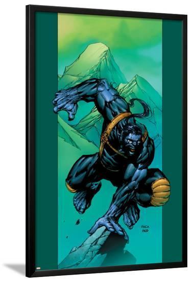 Ultimate X-Men No.44 Cover: Beast-David Finch-Lamina Framed Poster