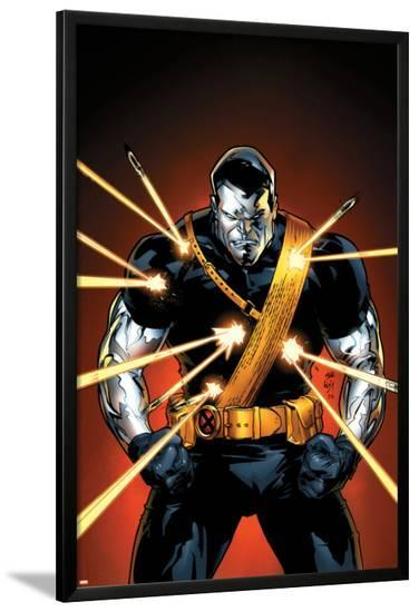 Ultimate X-Men No.56 Cover: Colossus--Lamina Framed Poster