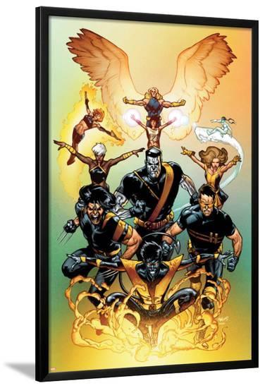 Ultimate X-Men No.65 Cover: Nightcrawler-Stuart Immonen-Lamina Framed Poster