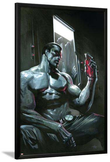 Ultimate X-Men No.94 Cover: Colossus--Lamina Framed Poster