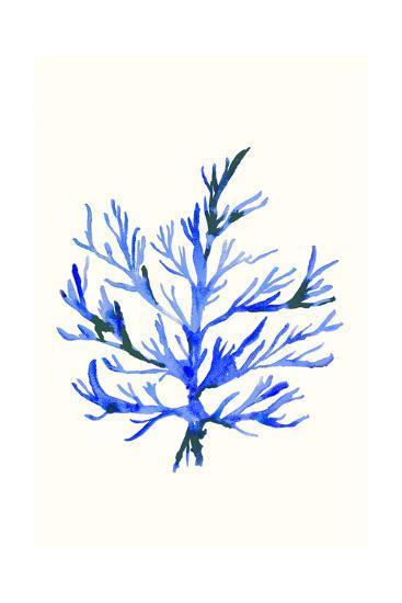 Ultramarine Growing 2-Erin Lin-Premium Giclee Print