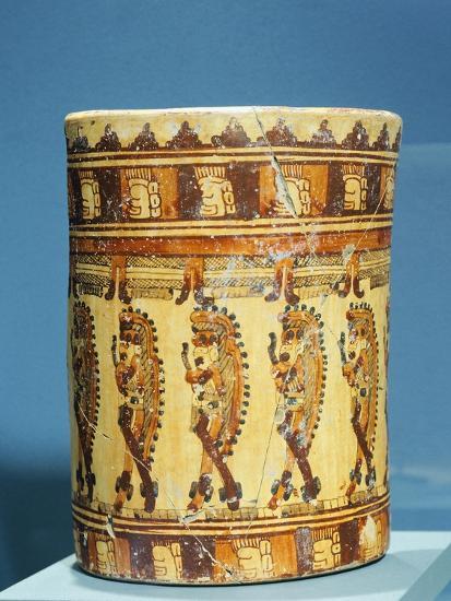 Ulua Polychrome Terracotta Vase Shaped--Giclee Print