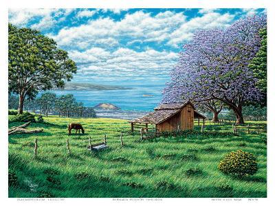 Ulupalakua, Upcountry Maui, Hawaii-Hans Olson-Art Print