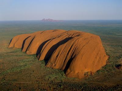 Uluru, Kata Tjuta National Park, Northern Territory, Australia-Steve Vidler-Photographic Print