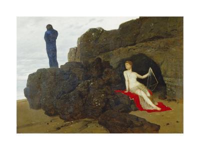 Ulysses and Calypso, 1883-Arnold B?cklin-Giclee Print