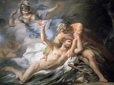 Ulysses Lands on the Isle of Calypso, 1737-Pierre Charles Tremolieres-Giclee Print