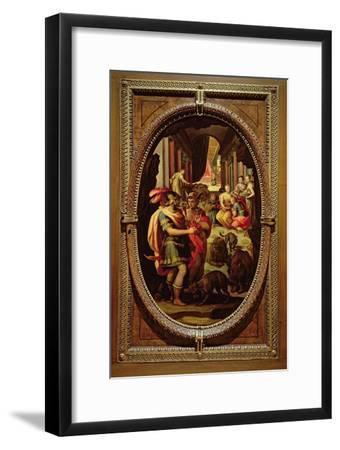 Ulysses, Mercury and Circe, 1570-Jan van der Straet-Framed Giclee Print