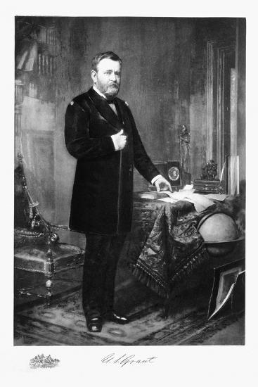 Ulysses S Grant, 18th President of the United States of America, (1901)-Unknown-Giclee Print