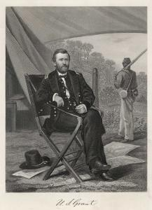 Ulysses S Grant American Soldier and President