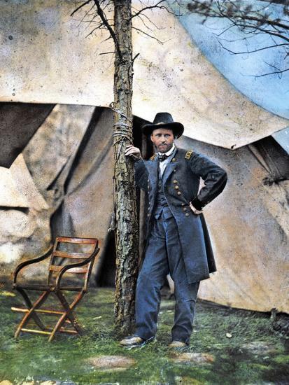 Ulysses S. Grant--Photographic Print
