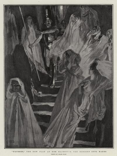 Ulysses, the New Play at Her Majesty'S, the Descent into Hades-Frank Craig-Giclee Print