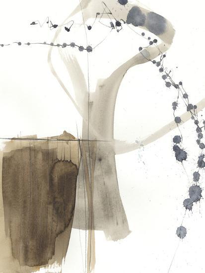 Umber Connection I-Jennifer Goldberger-Art Print
