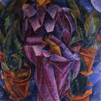 Composizione Spiralica, 1913 by Umberto Boccioni