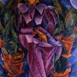Composizione Spiralica by Umberto Boccioni