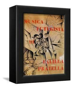 Design for the Cover of 'Musica Futurista' by Francesco Balilla Pratella (1880-1955), 1912 by Umberto Boccioni
