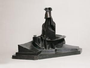 Development of a Bottle in Space by Umberto Boccioni