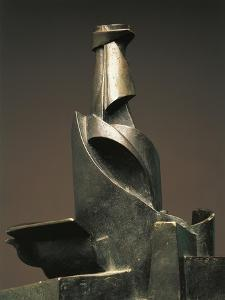 Development of Bottle in Space by Umberto Boccioni