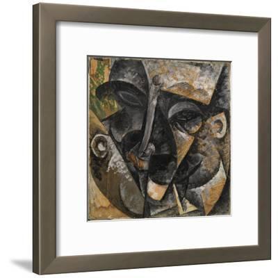 Dynamism of a Man's Head or Composition of a Woman's Head (Dinamismo Di Una Testa Di Uomo)