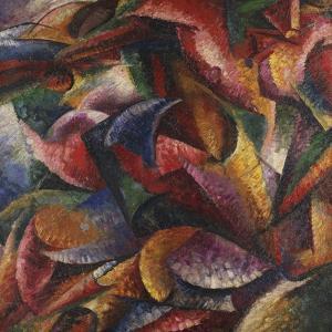 Dynamism of Human Body by Umberto Boccioni
