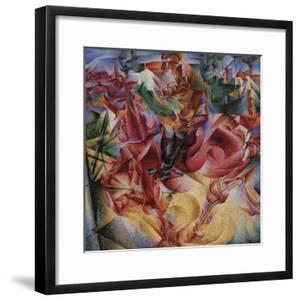 Elasticity by Umberto Boccioni