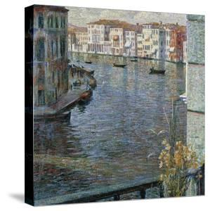 Grand Canal in Venice, 1907 by Umberto Boccioni