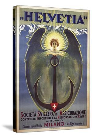 Helvetia Poster by Umberto Boccioni, 1909