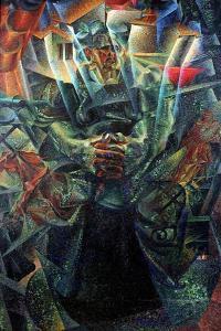 Materia, 1912 by Umberto Boccioni