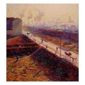 Morning by Umberto Boccioni