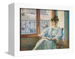 Mrs. Massimino by Umberto Boccioni