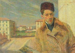 Self Portrait, 1908 by Umberto Boccioni